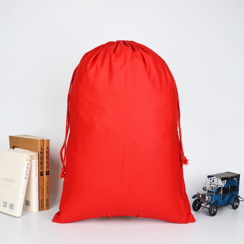 Festival cotton string bag-Red