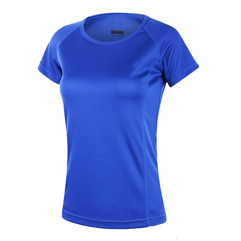 Wholesale Women Sports T-Shirts preshrunk Short sleeve
