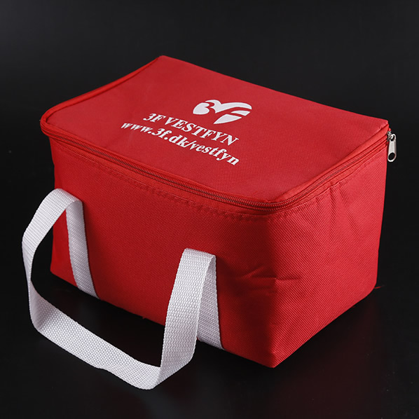 Promotional non woven cooler bag/logo coolers/insulated lunch bag