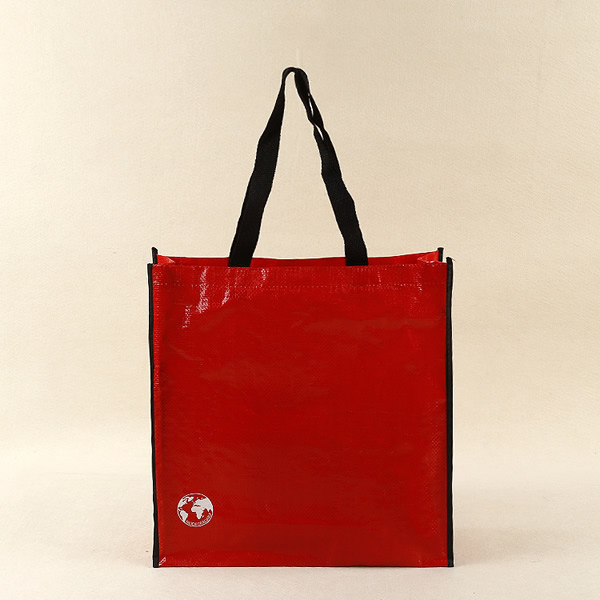 Recyclable Laminated PP woven tote bag