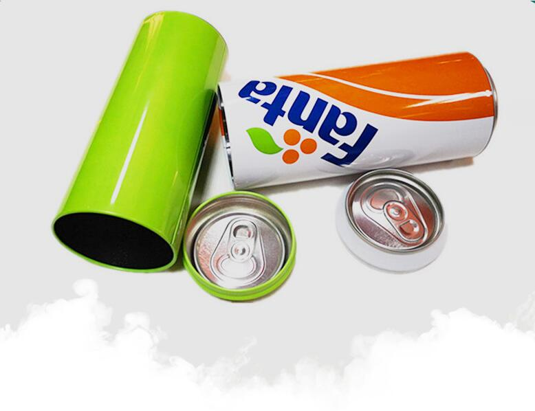 Tin box-POP Top can shape package for towel/candy/underwear