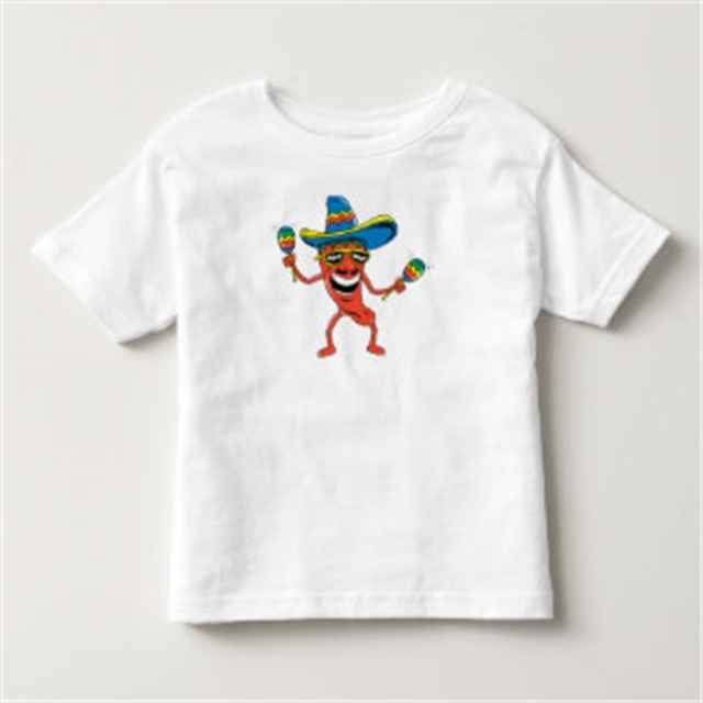 wholesale O neck kids 100% organic cotton short sleeveT-shirt with printing
