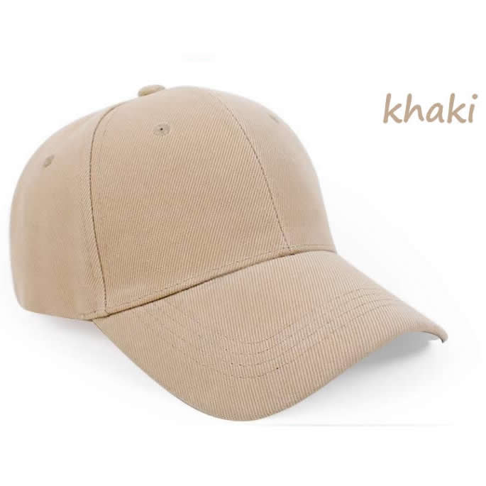 Structured 6 panel cotton cap with embroidered eyelets-Khaki